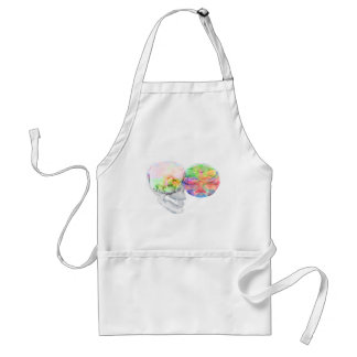 Crystal Skull DMT Pineal Alchemy Adult Apron