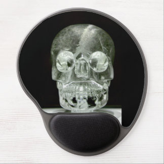 Crystal skull Gel Mouse pad