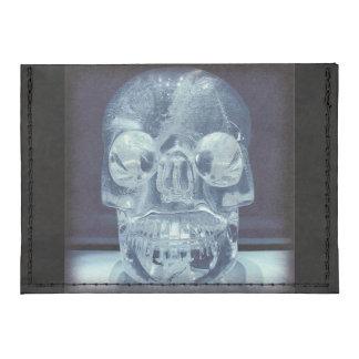 Crystal skull Tyvek card case wallet Tyvek® Card Wallet