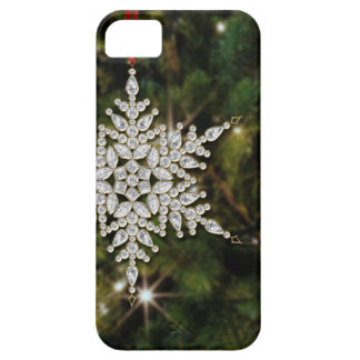 Crystal Snowflake Christmas iPhone 5/5S Case