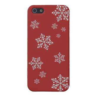 Crystal Snowflake iPhone 5/5S Case