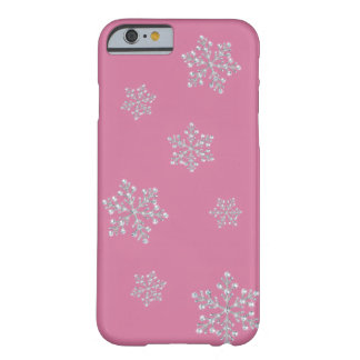 Crystal Snowflake iPhone 5 Case (pink) iPhone 6 Case
