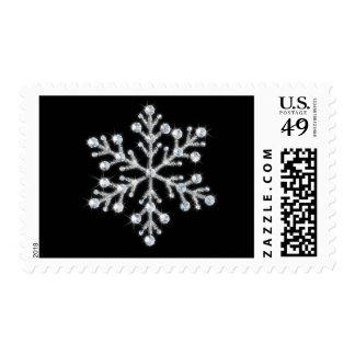 Crystal Snowflake Stamp