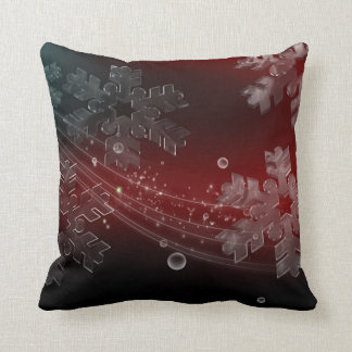 Crystal Snowflakes Pillow