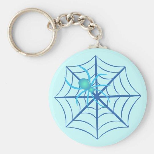 Crystal Spider Keychain