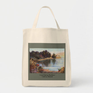 Crystal Springs Boathouse Tote Bag