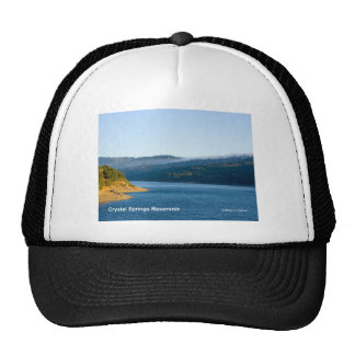 Crystal Springs Reservoir California Products Hats