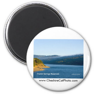 Crystal Springs Reservoir California Products Magnet