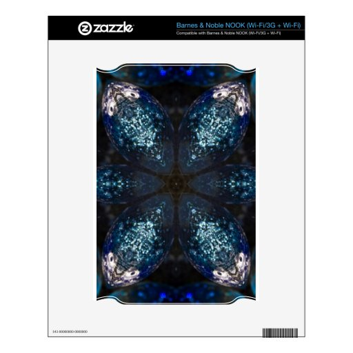 Crystal Star Geometric Skins For The NOOK
