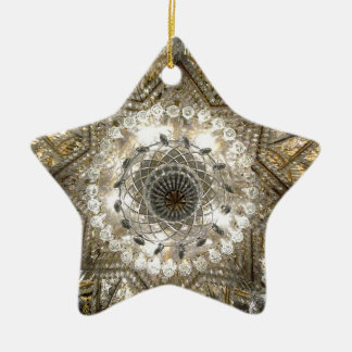 'Crystal' Star Ornament (Silver/Gold)