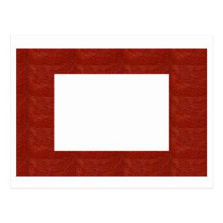 Crystal Stone Border: EDITABLE add text or image Postcard