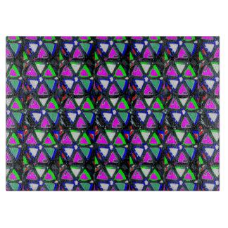 Crystal Stone FineArt Graphics Deco NavinJoshi FUN Cutting Board