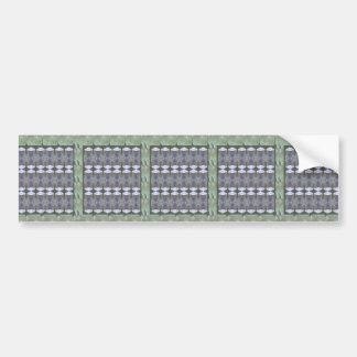 CRYSTAL STONE JEWEL DIY Template NVN435 LARGE Car Bumper Sticker