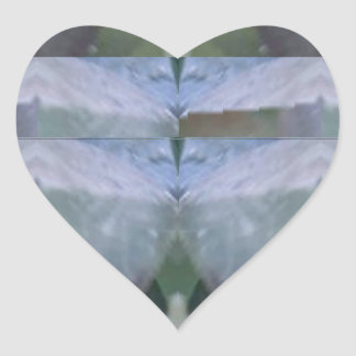 CRYSTAL Stone Jewel Healing Success FUN RT NVN465 Heart Stickers
