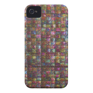 Crystal Stone Tile work Egyptian Museum New York iPhone 4 Cover