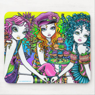 Crystal Sunny & Buttercup Rainbow Fairies Mousepad