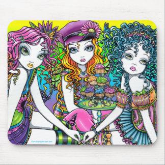 Crystal Sunny Daisy Buttercup Rainbow Fairy Party Mouse Pad