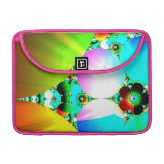 Crystal Sunrise - Abstract Fractal Rainbow Sleeve For MacBook Pro