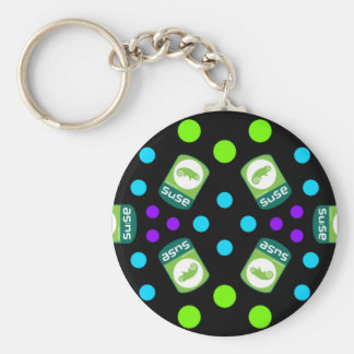 Crystal Suse Linux Keychain