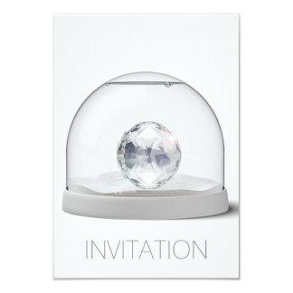 Crystal Swarovsky Gray Club Party Vip Invitation