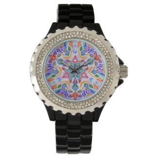 Crystal Symmetry (Rhinestone Watch) Wrist Watch