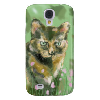 Crystal the feral cat galaxy s4 case