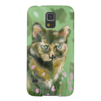 Crystal the feral cat galaxy s5 cover