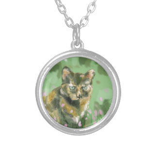 Crystal the feral cat necklace