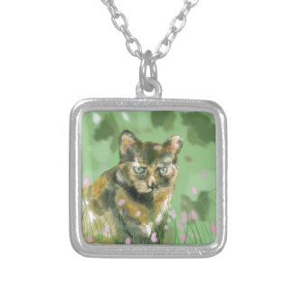 Crystal the feral cat custom jewelry