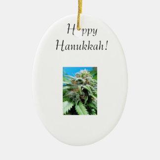 Crystal Trichome™ 'Happy Hanukkah' Mtn Jam Ornaments