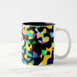 Crystal Two-Tone Coffee Mug