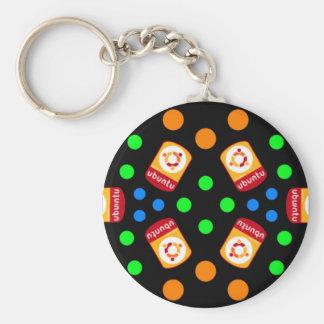 Crystal Ubuntu Linux Keychain