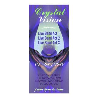 Crystal Vision Event Flyer Rack Card