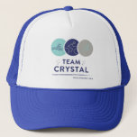 "Crystal vs. Nice IM2018 Trucker Hat<br><div class=""desc"">Cheer on your favorite Running Ginger,  Crystal,  as she takes on the 2018 IronMan in Nice,  France!