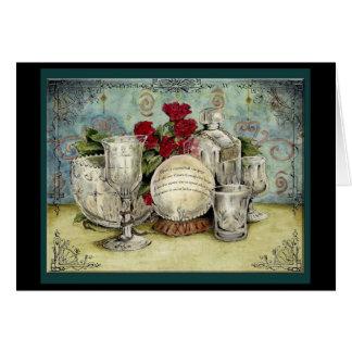 Crystal Wedding Anniversary: Jupigio-Artwork.com Greeting Card