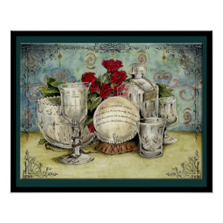 Crystal Wedding Anniversary: Jupigio-Artwork.com Poster