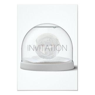 Crystal White Gray Club Party Vip Invitation