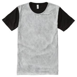 Crystal White Stone Pattern Background - Elegant All-Over-Print T-Shirt