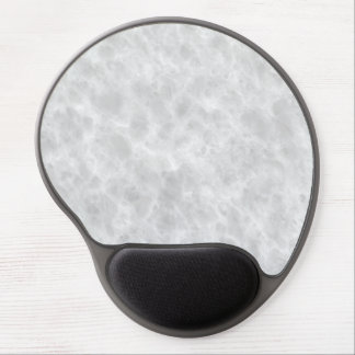 Crystal White Stone Pattern Background - Elegant Gel Mouse Pad