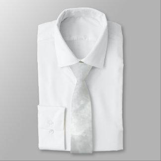 Crystal White Stone Pattern Background - Elegant Necktie