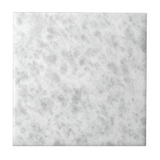 Crystal White Stone Pattern Background - Elegant Tile