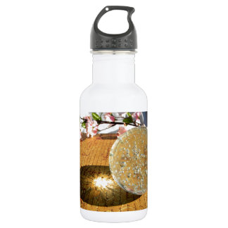 Crystal Words Stainless Steel Water Bottle