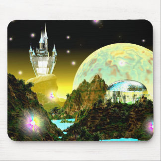 CRYSTAL WORLD BY CHELLEA MOUSE PAD