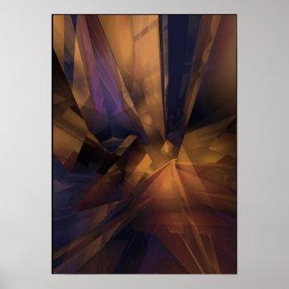 Crystalinn de bronce poster