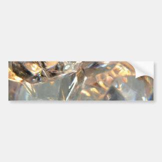 Crystalized Pegatina De Parachoque