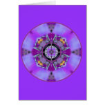 Crystalized Crown Chakra Flow Greeting Card