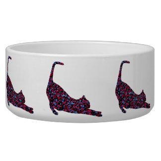 CrystalKatz  Quilted Cat Custom Trendy Pet Bowls