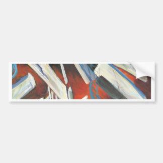 Crystalline Bumper Sticker