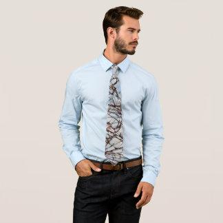 Crystalline Neck Tie