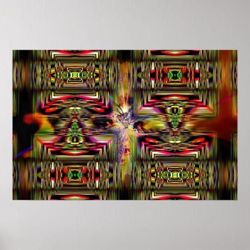 Crystalline Retrace 2 Poster
